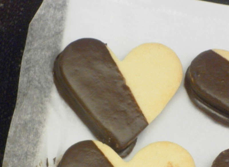 Chocolate Dipped Shortbreads