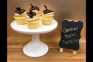 Candied Bacon Cupcakes